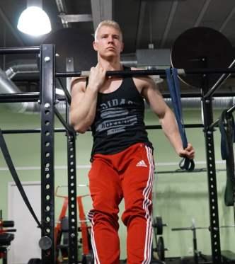 how to build strength to do a push up