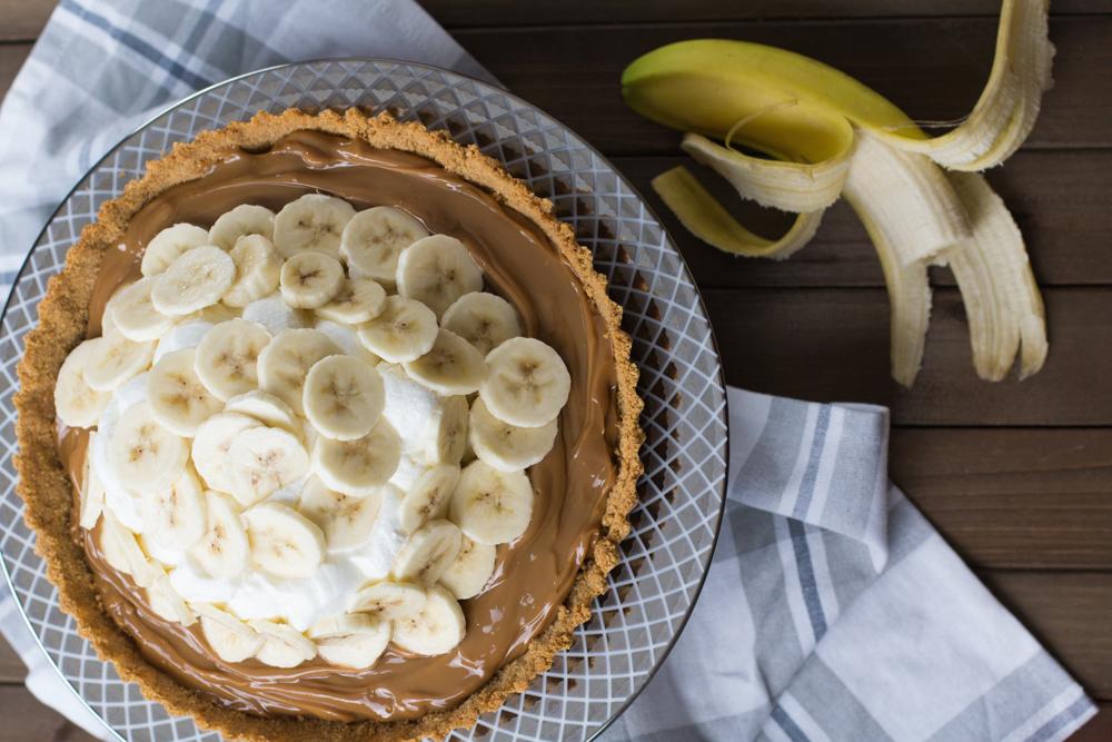 Banoffee - Torta de banana e doce de leite