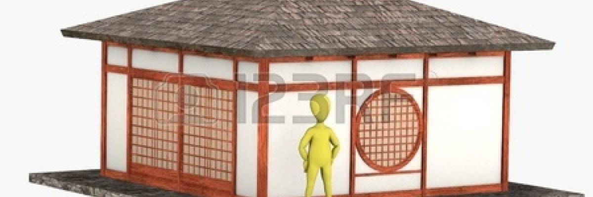13745738-3d-rendering-di-personaggio-dei-cartoni-animati-con-la-casa-giapponese
