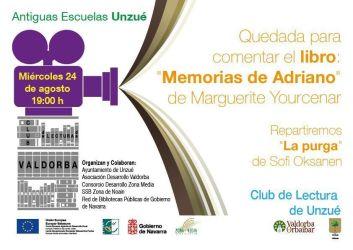 """Quedada Club de Lectura """"Memorias de Adriano"""" de Marguerite Yourcenar"""