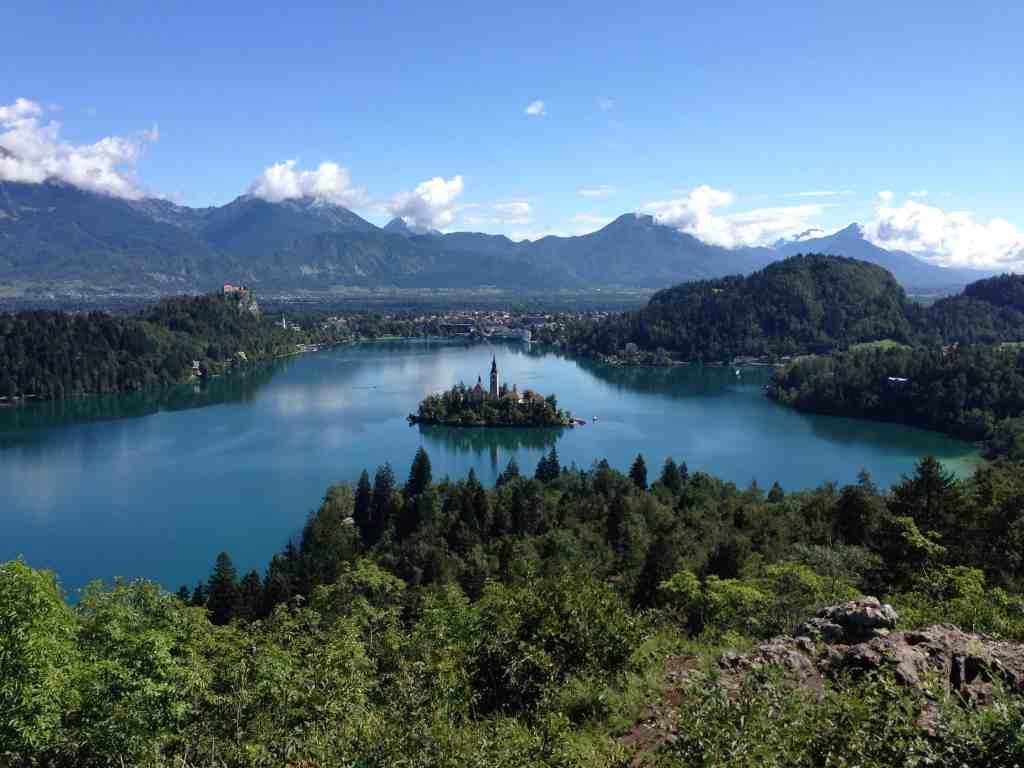 Bled Lake, one of the best spots in Slovenia, www.valisesetgourmandises.com
