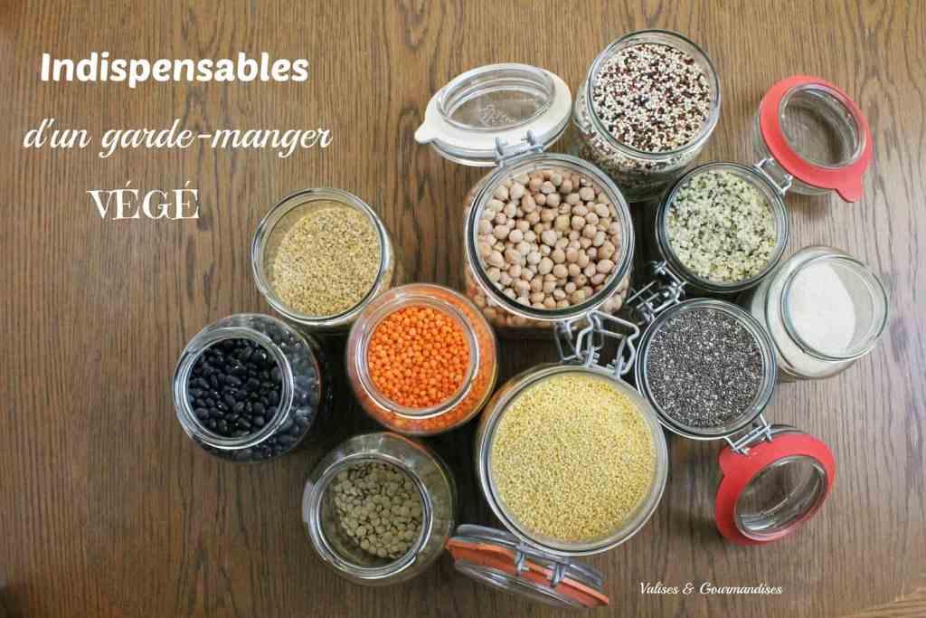 Indispensables d 39 un garde manger v g valises gourmandises - Fabriquer un garde manger ...