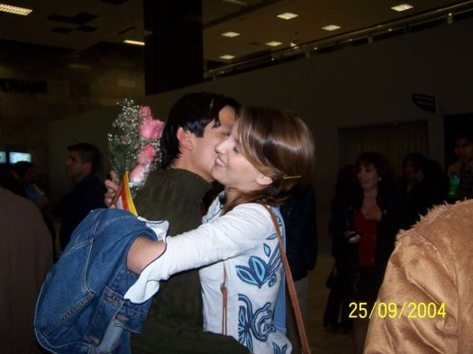 (Aeropuerto de Lima, 25 de setiembre de 2004)
