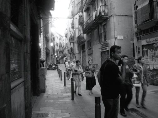 (Carrer de Joaquín Costa, Barrio del Raval, Barcelona, 2010)