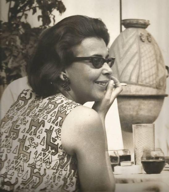 La poeta Blanca Varela