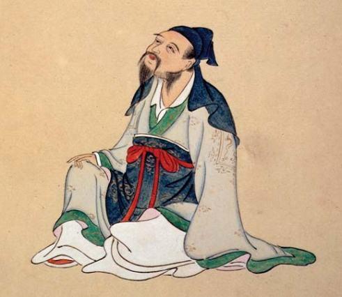 El poeta chino Li Bai