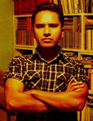 El poeta Jair Cortés.