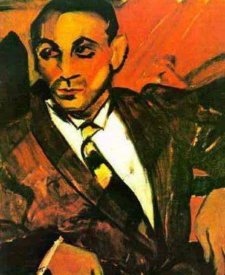 El hombre amarillo (1917) de Anita Malfatti
