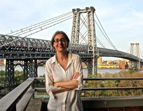 La poeta Marta López Luaces