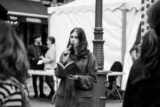 La poeta Gema Palacios