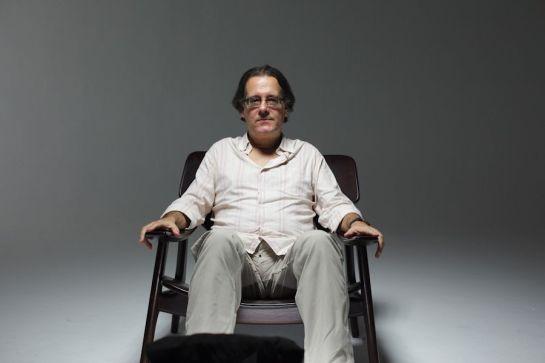 El poeta Paulo Henriques Britto.