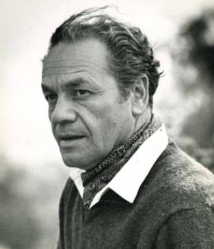 El poeta Nicanor Parra en su juventud