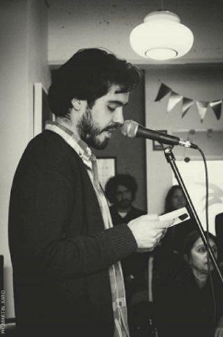 El poeta Diego Alfaro Palma