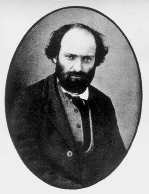 Fotografía del pintor Paul Cézanne.