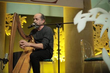 El poeta y músico Francesco Benozzo