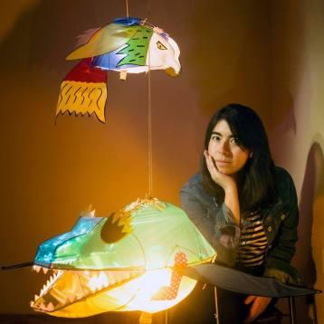 La poeta Katherine Medina Rondón