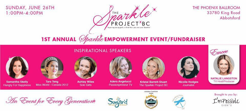 1st Annual Sparkle Empowerment Event/Fundraiser Coming to 'the Valley'