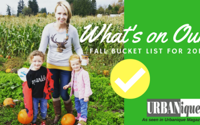 What's on Our Bucket List for Fall 2016