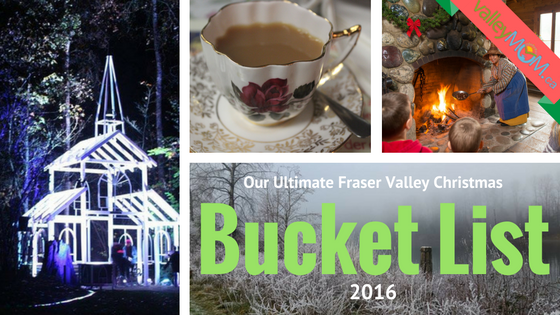 Our Ultimate Fraser Valley Christmas Bucket List 2016