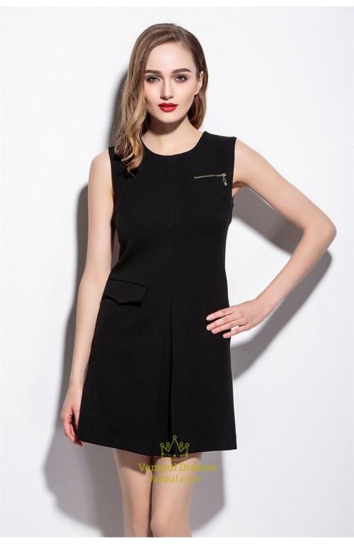 Medium Of Simple Black Dress