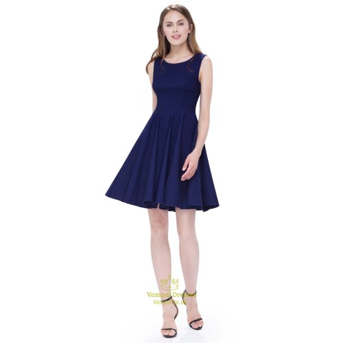 Medium Crop Of Fit And Flare Cocktail Dress