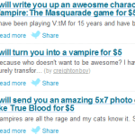Vampires Have Invaded Fiverr!