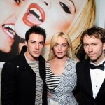 Lindsay Lohan Vamps it up with Vampire Diaries' Michael Trevino