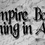 Vampire Books Coming April 2012