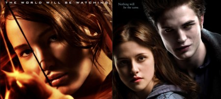 hunger games twilight