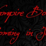Vampire Books Coming June 2013
