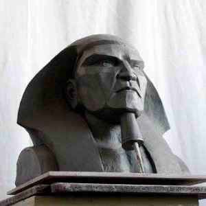 vancouver sculpture classes, student work of Egyptian pharaoh