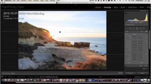 How to Use Lightroom's Graduated Filter Tool