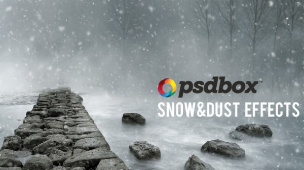 Snow and Dust Particle Effects in Photoshop