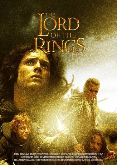 Lord of the Rings Poster Photoshop Tutorial