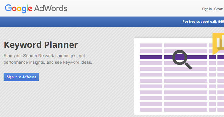 google adwords planner