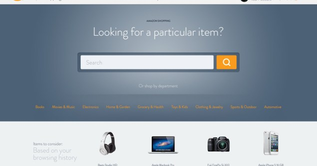 Amazon Redesign Concepts