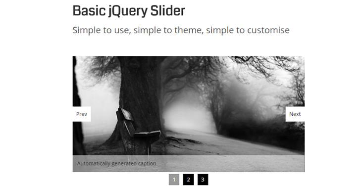 Basic jQuery Slider