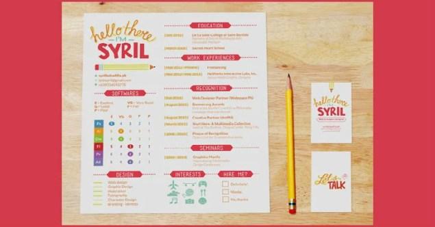 creative resumes and cv examples