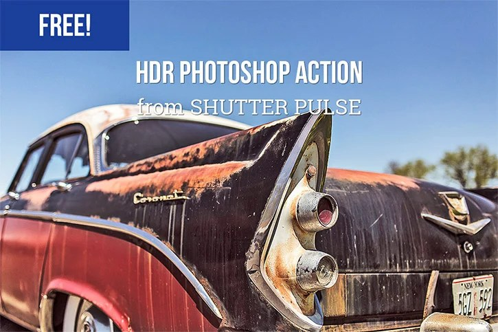 HDR Photoshop Action by Shutter Pulse