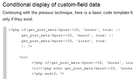 Using Custom Fields Part 2