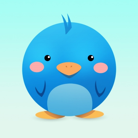 How to Create a Cute and Adorable Twitter Icon in Photoshop