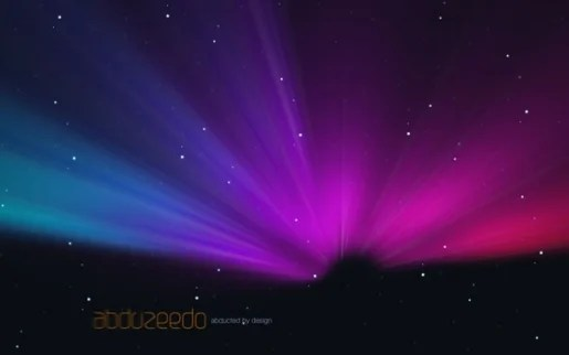 Aurora Borealis Effect in Pixelmator