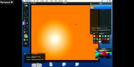 Creating Gradients in Pixelmator