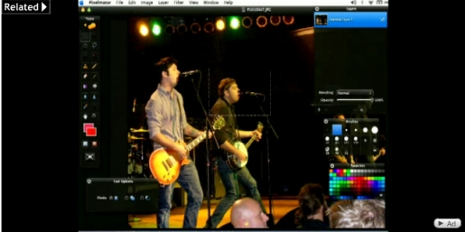 Using the Marquee Tools in Pixelmator