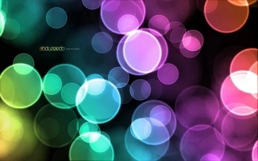 Colorful Bokeh Effect in Pixelmator