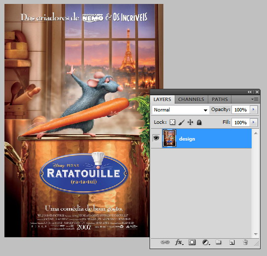 Instructions for Editing the Poster Mockup PSD