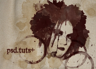 How to Create a Grunge Style Illustration with Stains