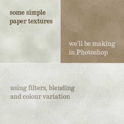 Photoshop Paper Texture from Scratch Then Create a Grungy Web Design With It