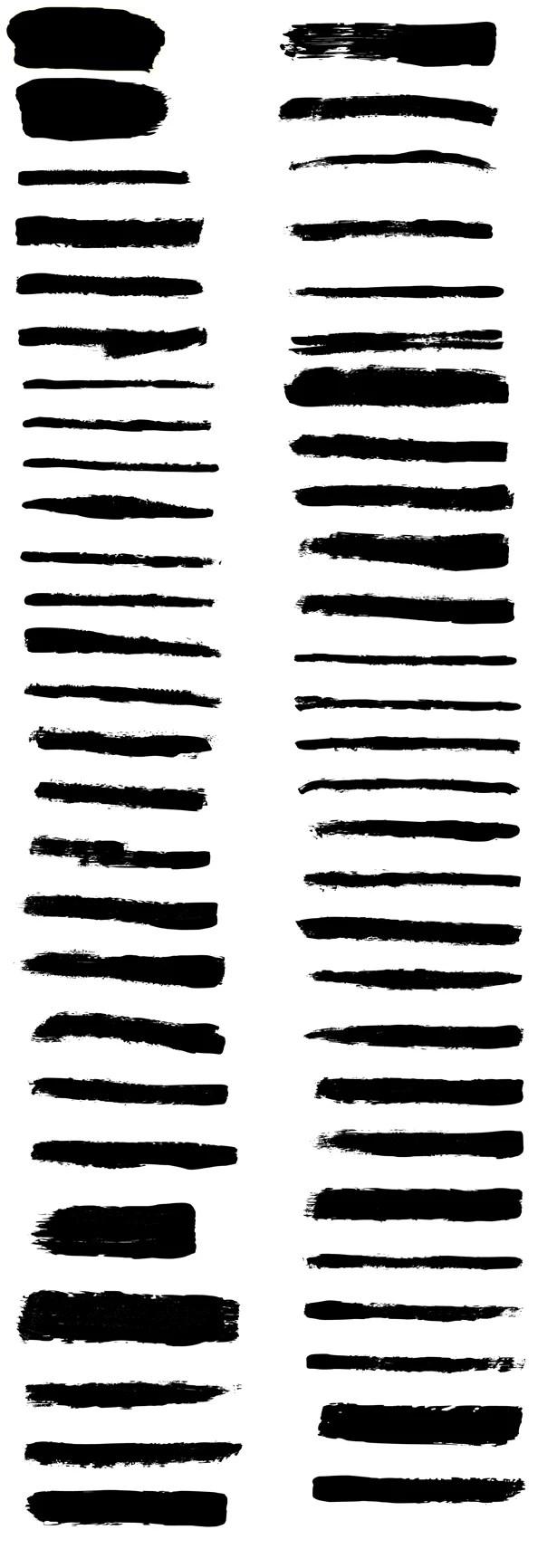 Illustrator Brush Strokes Brushes