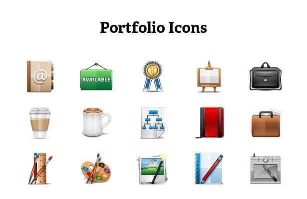 Portfolio Icons